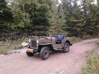 1958 Willys CJ3B