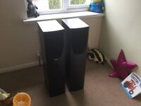 Mission M73 floor standing speakers