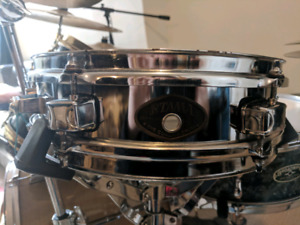 """Tama 12"""" x 3"""" Stainless Piccolo Snare drum"""