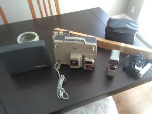 Vintage 8mm Movie camera and projector equipment