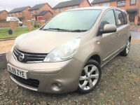 2010 Nissan Note 1.4 16v N-TEC - Full Service History 7 Stamps - KMT Cars