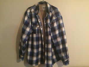 Men's Sherpa Flannel Jacket