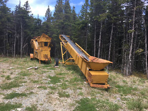 Selling topsoil  screener and conveyor
