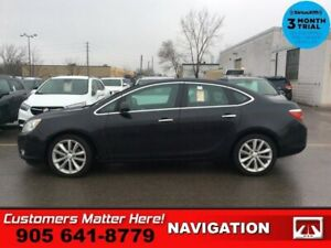 2015 Buick Verano Leather  NAV ROOF CAM BS LD CW P/SEAT BOSE HS