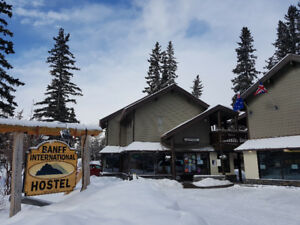 Weekly Rate Available @ Banff International Hostel!