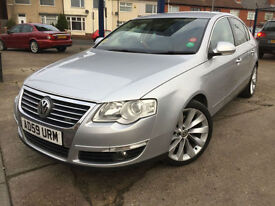 2009 Volkswagen Passat 2.0TDI CR 140PS Sport, 80,000 miles full history LEATHER