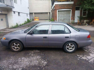 1998 Toyota Corolla Berline *A/C* + *Cruise Control*!