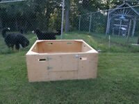 4'x4' Welping Box