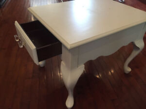 Reduced price to clear - Vintage Solid Wood Side Table