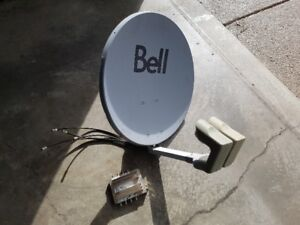 Bell HD / SD Satellite Dish and SW44 Switch