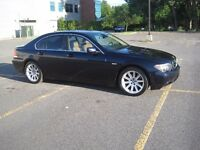 2004 BMW 7-Series Sedan (745i Executive Package), 2 Sets of Rims