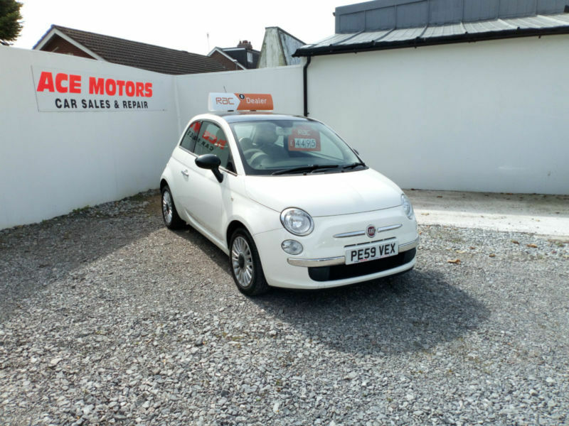 2009 59 FIAT 500 1.2 LOUNGE,ONLY 33000 MILES WITH FULL SERVICE HISTORY,