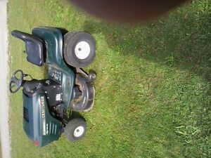 Searching for a sears riding lawnmower bagger