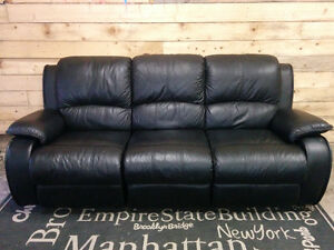 Leather Couch - Delivery Available