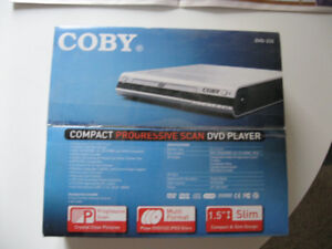 NEW Coby DVD Player