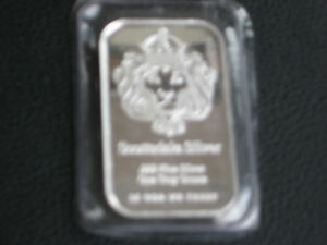 One Troy Ounce Sealed Silver Bar