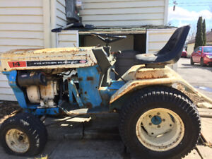 Tractor lawnmover