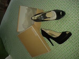 satin  Michael Kors  heels .. never worn