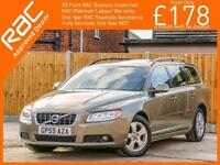2010 Volvo V70 1.6 D Turbo Diesel DRIVe SE 5 Speed Estate Bluetooth Heated Seats