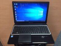 Packard Bell Slim HD Laptop, 500GB, 4GB Ram (Kodi) HDMI, Win 10, quick Startup, office, Like New