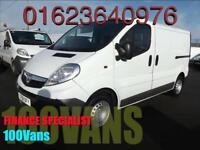 Vauxhall Vivaro 2.0 (115) BHP SWB PANEL VAN. FINANCE A PLEASURE