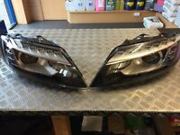 BRAND NEW AND RARE Q7 GENUINE FRONT AND REAR LED LIGHTS