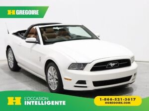2013 Ford Mustang V6 Premium CONVERTIBLE AUTO CUIR MAGS BLUETOOT