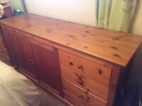 Solid Pine Sideboard