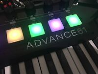 Akai Professional Advance 61 Midi Controller Keyboard