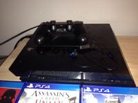 500gb PS4 with 8 games