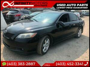 2008 TOYOTA CAMRY FOR PARTS PARTING OUT CARS CAR PARTS