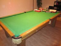 POOL TABLE - SNOOKER TABLE LIKE NEW FOR SALE