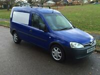 VAUXHALL COMBO 1.7Di 2004 AIR/CON ELECTRIC PACK ROOF-RACK X-BRITISH GAS VAN NO VAT
