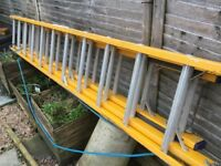 Insulated ladders