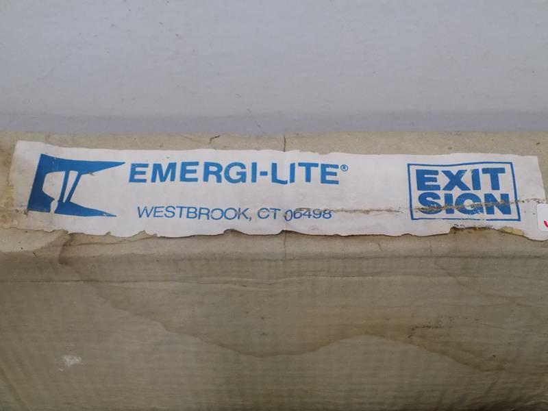 EMERGI-LITE EXIT SIGN PLBX24R277