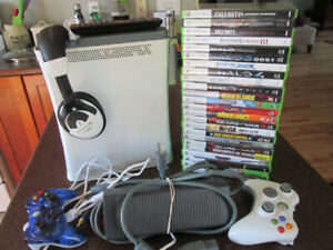 X-Box 360 with 2 Dozen Games