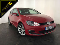 2013 VOLKSWAGEN GOLF GT BLUEMOTION TECH TDI 1 OWNER SERVICE HISTORY FINANCE PX
