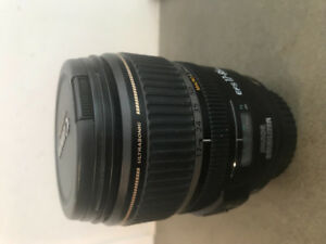 Cannon zoom lens EFS 17-85 mm