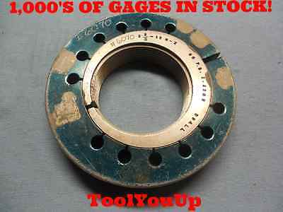 2 38 12 N2 Go Thread Ring Gage 2.375 P.d. 2.3209 Tooling Toolmaker Tools