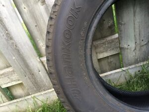 Winter Tires for Sale! Great deal! Used 1 winter only
