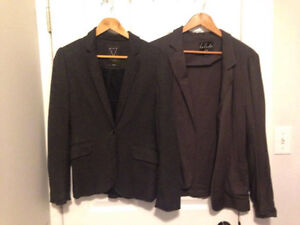 Aritzia Talula Blazers - Grey, Sz Small/Medium - Gently Used