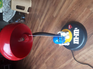 M&M candy night or table lamp