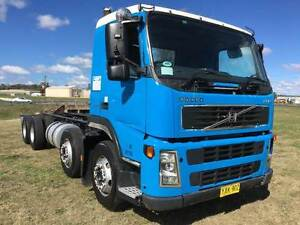 2003 Volvo FM9 8x4 C/Chassis truck. 340HP,Auto,airbag suspension. Inverell Inverell Area Preview