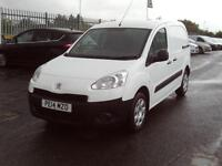 Peugeot Partner 850 1.6HDI 92ps Professional DIESEL MANUAL WHITE (2014)