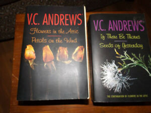 VC Andrews, 4 stories in two books