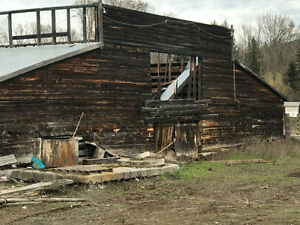 Barn wood available from 100+year old barn in Kelowna