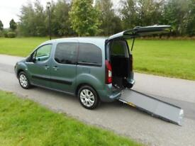 2013 Citroen Berlingo Multispace 1.6 Hdi Only 23K WHEELCHAIR ACCESSIBLE VEHICLE