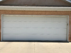 Garage Door OPEN TO OFFERS