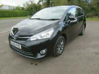 2013 63 TOYOTA VERSO 2.0 D-4D ICON 5DR ONLY 82K MOT AUG. 21 7-SEATER ZAFIRA