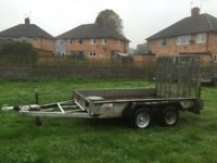 Indespention plant trailer 3500kg